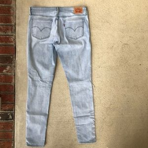 Levi's Jeans - || Levi's || 711 Distressed Skinny Jeans